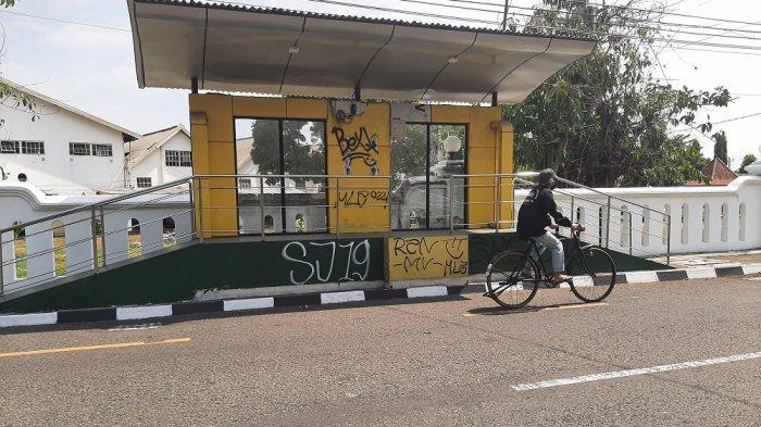 Dishub DIY Desak Pengelola Bereskan Aksi Vandalisme di Halte Bus Trans Jogja