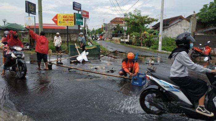 Disinyalir Jadi Penyebab Banjir, Pemkot Yogya Selidiki Kerusakan SAH di Jalan Jambon