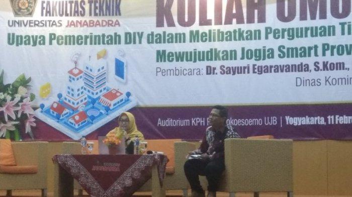 Diskominfo DIY Dorong Mahasiswa Berkontribusi Mewujudkan Jogja Smart Province
