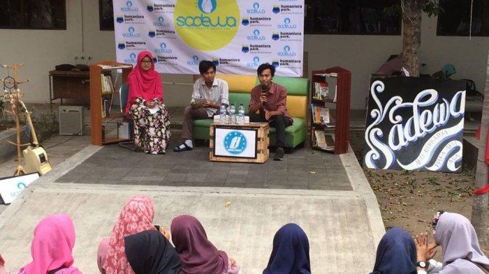 Diskusi Jurnalistik Human Literacy:'Menulis Sebagai Media Perubahan'