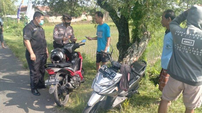 Ditabrak dari Belakang di Jalan Nagung-Brosot, Pengendara Sepeda Motor Dilarikan ke Rumah Sakit