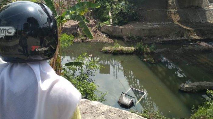 Kronologi Mobil Pikap Terjun ke Sungai Gajahwong