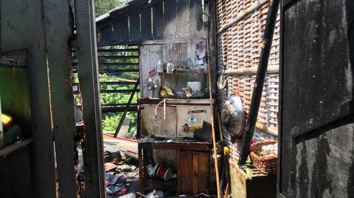 Ditinggal Pemiliknya Berziarah, Satu Rumah di Krajan Magelang Ludes Dilalap Api