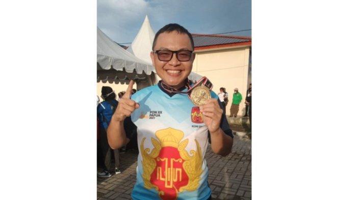 DIY Tambah Medali Emas di PON XX Papua Lewat Cabor Menembak oleh Hans Cristian