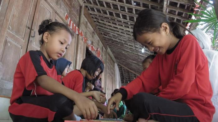 Kampung Ini Surganya Bagi Anak Anak Untuk Bermain Permainan Tradisional Tribun Jogja