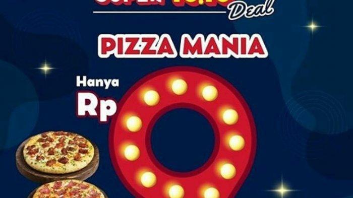 Promo 10 10 Domino S Pizza Wendy S Dan Hokben Tribun Jogja