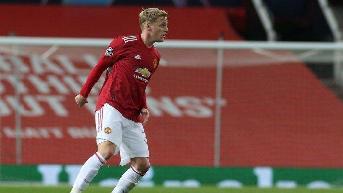 Donny van de Beek gelandang Manchester United