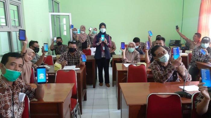 Dorong Digitalisasi Daerah, Bank BPD DIY Aktivasi Mobile Banking ke ASN Pemkab Bantul