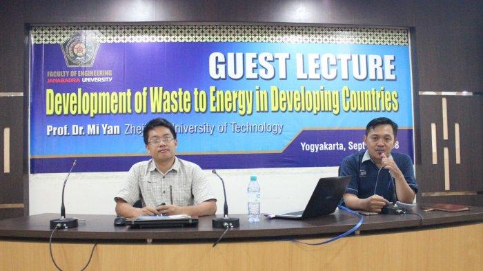 Fakuktas Teknik UJB Rintis Kerjasama Pengolahan Sampah dengan Zhejiang University of Technology