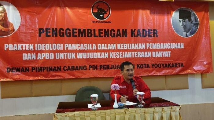 DPC PDI Perjuangan Kota Yogyakarta Gelar Pembekalan Bagi Caleg Terpilih