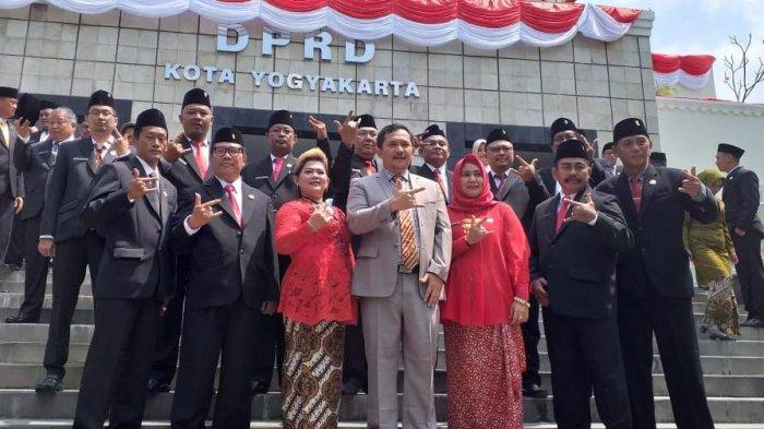 DPC PDI Perjuangan Kota Yogyakarta Ucapkan Selamat Berjuang DPRD Kota Yogyakarta 2019 - 2024