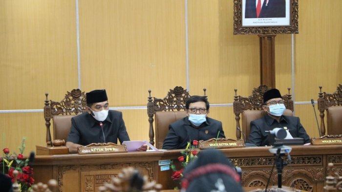 DPRD Kabupaten Magelang Sampaikan Rekomendasi LKPj Bupati TA 2020