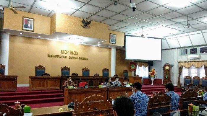 DPRD Rekomendasikan Pemkab Gunungkidul Tiadakan Kegiatan di Zona Merah