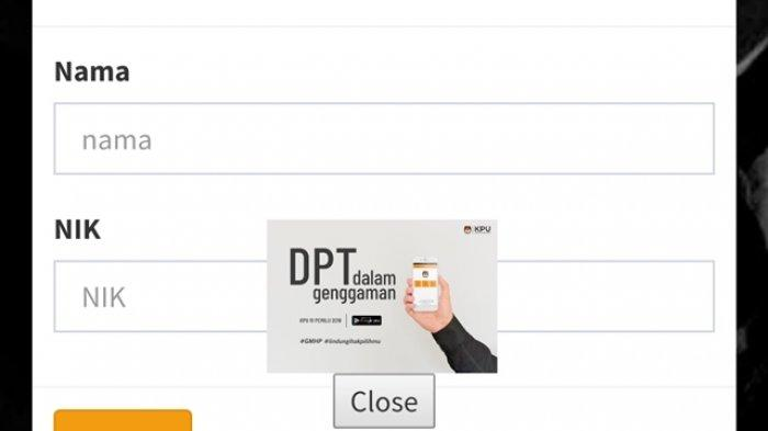 Cara Mengecek Nama Apakah Sudah Terdaftar Dalam DPT Secara Online