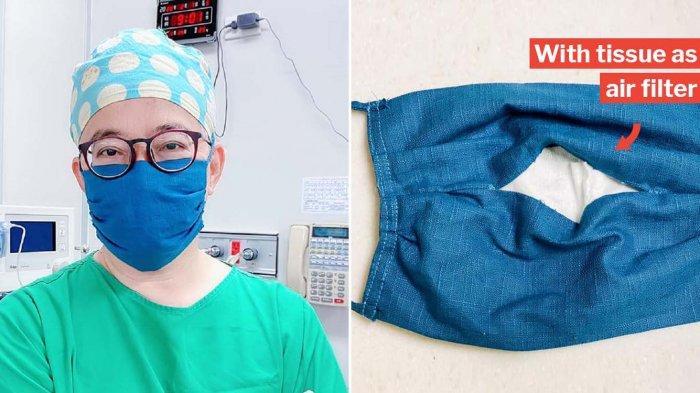 Cara Membuat Masker Kain Sederhana yang Bisa Dilakukan di Rumah
