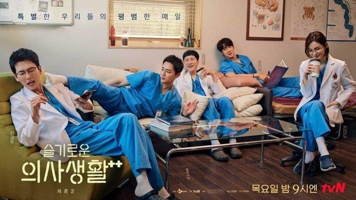 RATING Drama Korea (Drakor) Terbaik untuk Minggu 5-11 Juli 2021, Hospital Playlist 2 Terus Berjaya