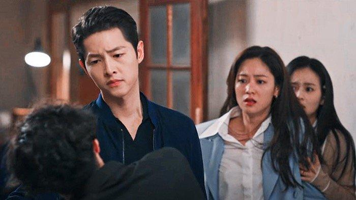SINOPSIS Drakor  Vincenzo Episode 18: Pertarungan Terakhir Vincenzo dan Jang Han Seok