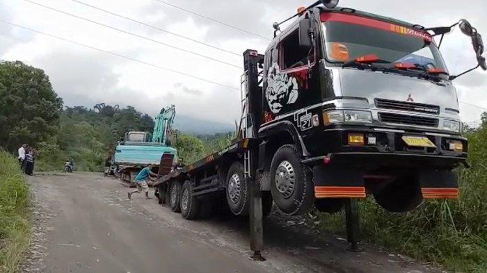Polres Magelang Tangkap Pelaku Penambang Ilegal di Magelang, Dua Ekskavator Disita