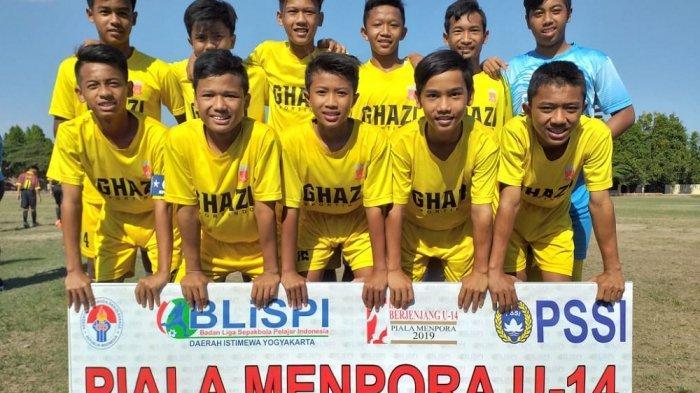 2 Tim Amankan Tempat di Semifinal Piala Menpora U-14 Regional DIY