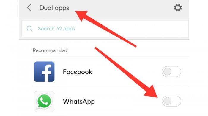Fitur dual Apps