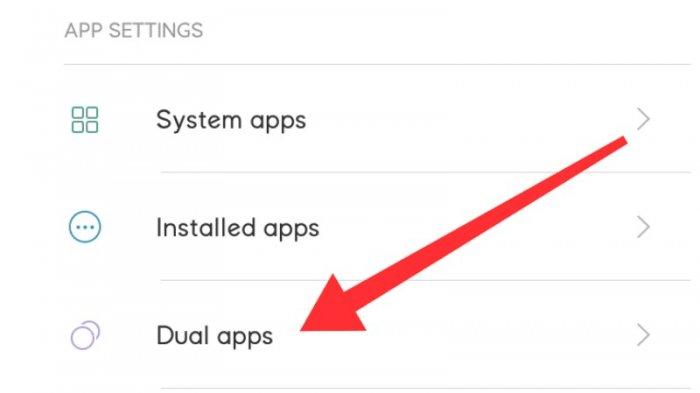 Fitur dual app di ponsel xiaomi