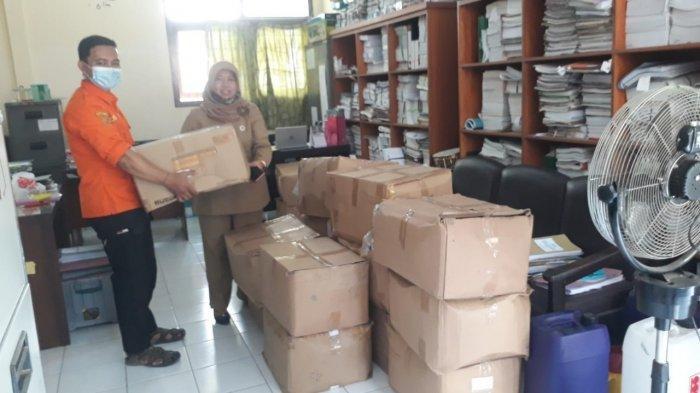 Dukung Pelaksanaan Pembelajaran Tatap Muka, BPBD Kabupaten Magelang Salurkan Bantuan APD