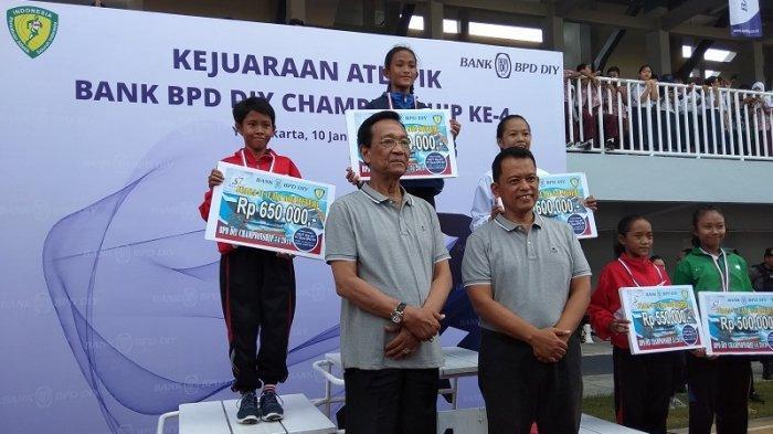 Dukungan Bank BPD DIY Tumbuhkan Bibit Muda Lewat Kejuaraan Atletik Bank BPD DIY Championship