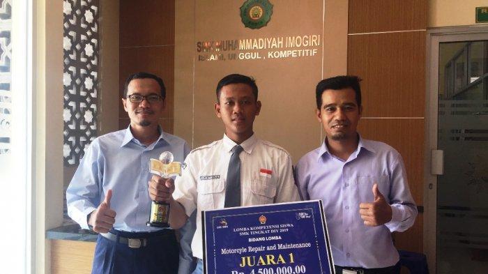 SMK Muhammadiyah Imogiri Wakili DIY di LKS Jurusan TBSM Tingkat Nasional
