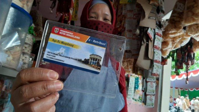 E-retribusi Diterapkan di Pasar di Kota Magelang untuk Cegah Kebocoran