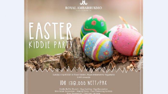 Easter Kiddie Party, Program Royal Ambarrukmo Yogyakarta Sambut Paskah Tahun Ini