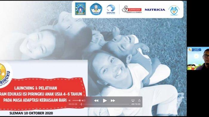 Danone Indonesia Beri Edukasi Gizi 'Isi Piringku' Kepada Guru PAUD di DIY