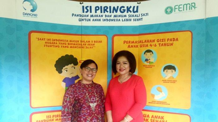 Edukasi Isi Piringku Peran Danone Indonesia Perbaiki Gizi Anak Menuju Indonesia 2045