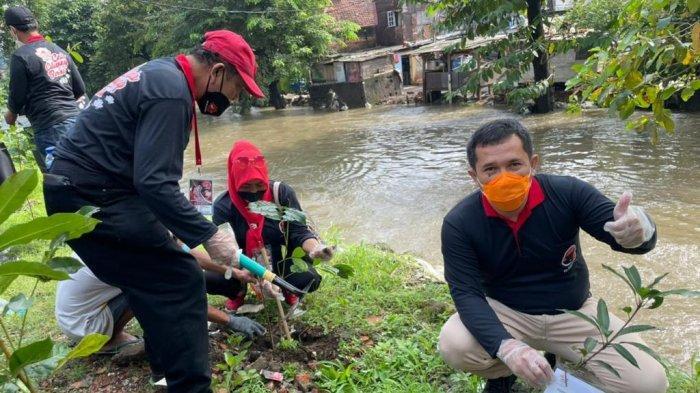 PDIP Jogja Dukung Gerakan Rawat Lingkungan Sekitar Bantaran Sungai Agar Terbebas Bencana Banjir