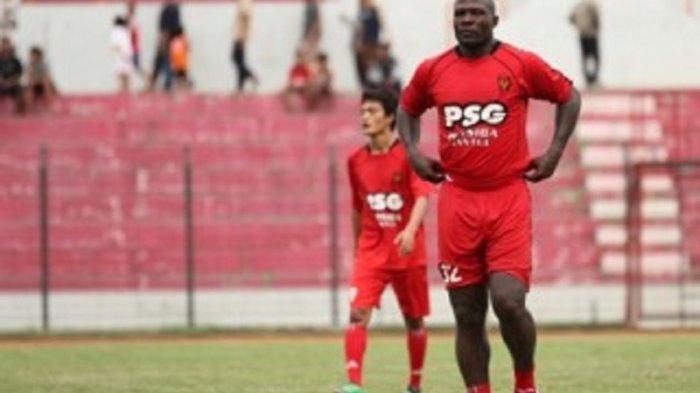 Eks Legiun Asing Persiba Bantul Trial di Sriwijaya FC