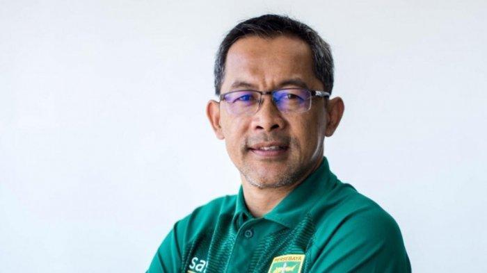 Pelatih anyar Persebaya Surabaya, Aji Santoso.