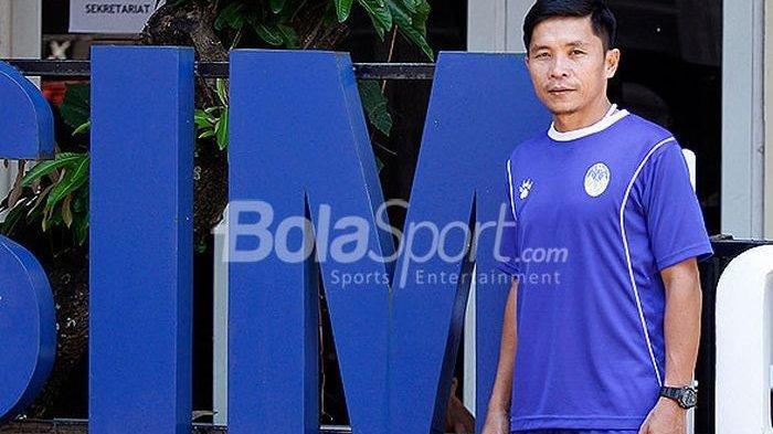 Eks Pelatih PSIM Yogyakarta, Bona Simanjuntak Resmi Tangani Persibat Batang