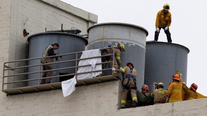 Elisa Lam ditemukan meninggal di tangki air Hotel Cecil, Los Angeles, Amerika Serikat pada tahun 2013
