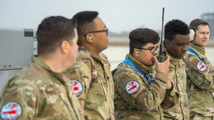 Emblem di seragam militer AS diperkirakan media pemerintah China sebagai bentuk persiapan perang dengan China