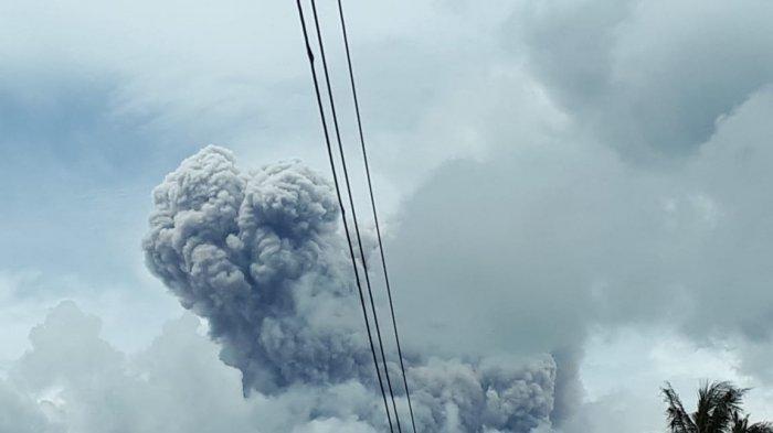 Erupsi Gunung Merapi, Rabu (27/1/2021)