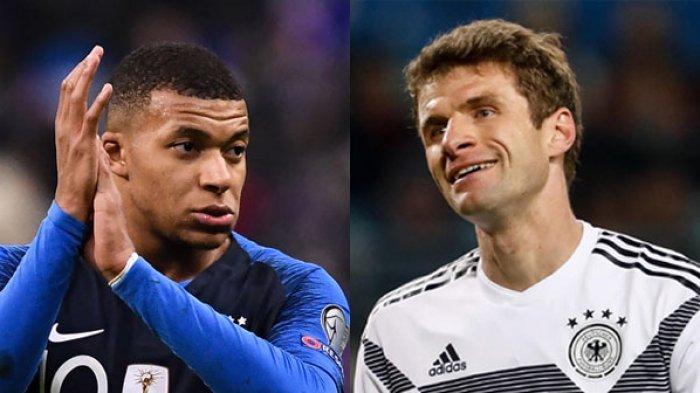 EURO 2020: LINK Streaming PRANCIS vs JERMAN, Siaran Langsung Piala Eropa Malam Ini