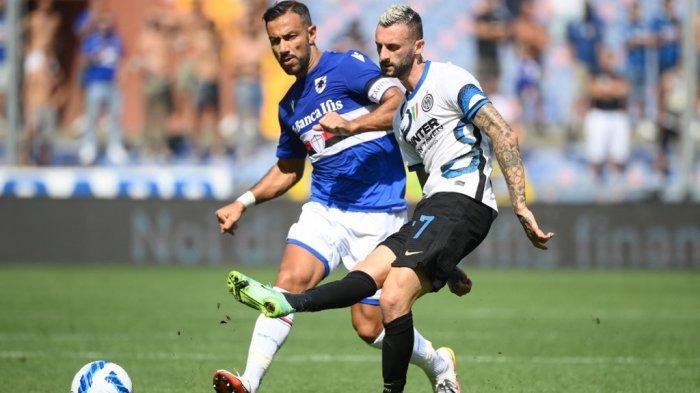 Hasil Serie A Liga Italia: Sampdoria vs Inter Milan Imbang 2-2