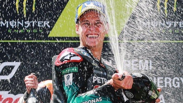 Fabio Quartararo Sebut Menang di GP Catalunya Adalah Momen Terbaik di Hidupnya