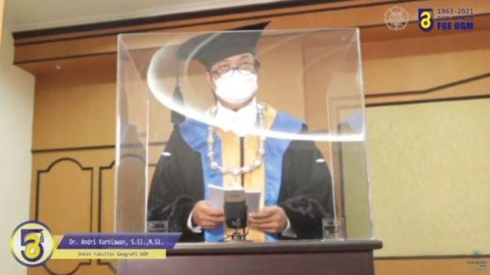 Fakultas Geografi UGM Gelar Upacara Dies Natalis ke-58