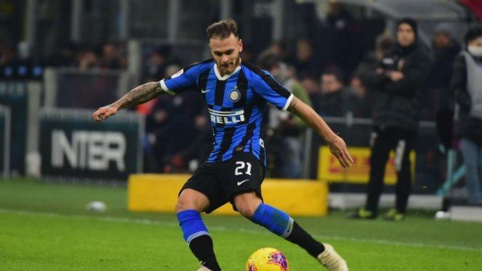 Federico Dimarco saat masih memperkuat Inter Milan