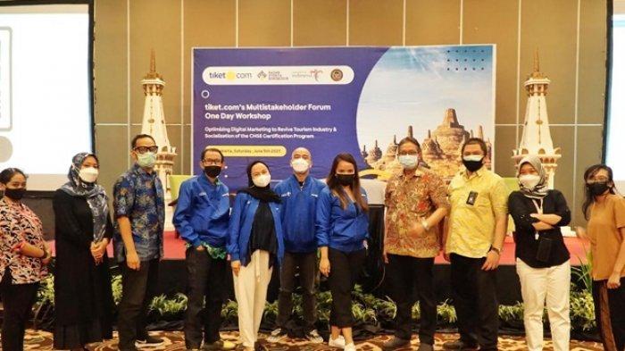 tiket.com, Kemenparekraf dan Badan Otorita Borobudur Upayakan Akselerasi Pemulihan Industri Wisata