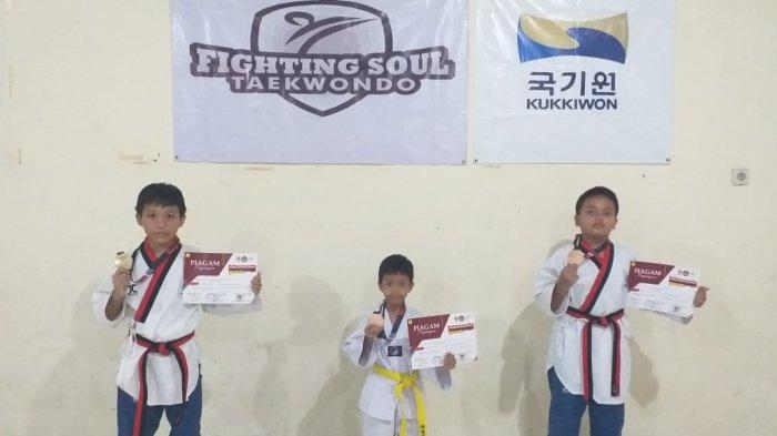 Fighting Soul Tae Kwon DoKembali Raih Prestasi di Tengah Pandemi