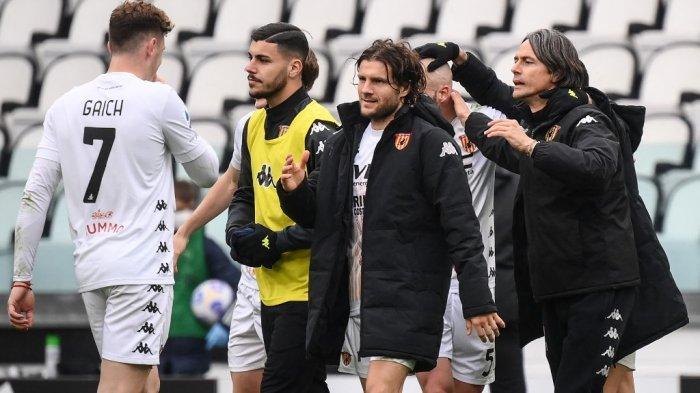 Juventus 0-1 Benevento: Inilah yang Dilakukan Filippo Inzaghi sebelum Permalukan Juve di Kandang
