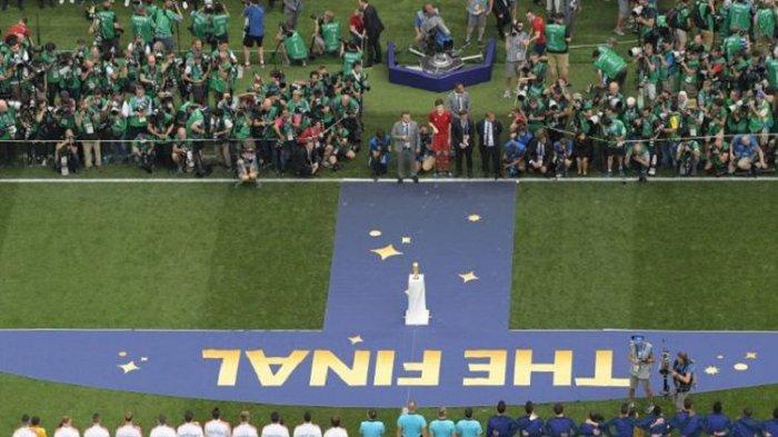 Final Piala Dunia: Perancis Unggul Setelah Satu Gol Bunuh Diri Kroasia