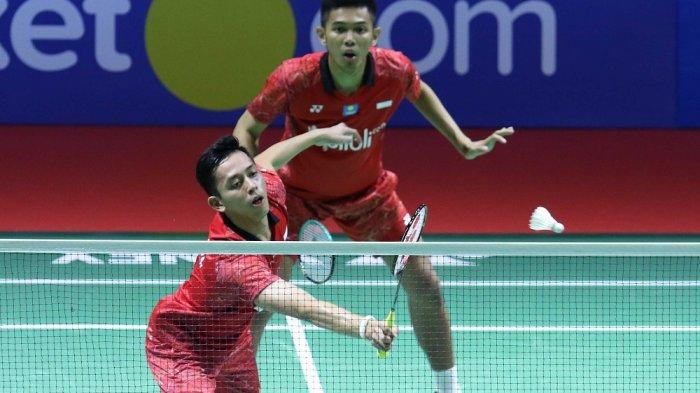 Final Swiss Open 2019 - Head to Head Fajar Alfian/Mohammad Rian Ardianto vs Lee Yang/Wang Chi Lin