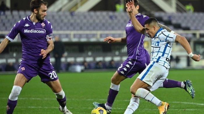 Fiorentina vs Inter Milan Disiarkan TV Live Streaming BeIN SPORTS Liga Italia Malam Ini